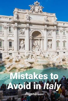 italy travel While you never really know a place until you go, it helps to have a cheat sheet on what not to do to avoid any mishaps while on the ground. Weve come up with a list of the most common mistakes travelers make when they visit Italy. European Vacation, Italy Vacation, European Travel, Italy Trip, Honeymoon In Italy, Maldives Honeymoon, Vacation Spots, Italy Travel Tips, Rome Travel