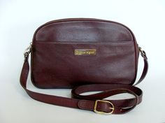 Hey, I found this really awesome Etsy listing at https://www.etsy.com/listing/165176368/etienne-aigner-burgundy-pebble-textured