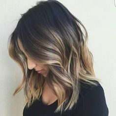 20 Balayage Ombre Short Haircuts , Who does not like balayage ombre short haircuts? Here are some ideas about it. Here are 20 Balayage Ombre Short Haircuts. Balayage hair is one of many. Cabelo Ombre Hair, Lob Hairstyle, Hairstyle Ideas, Hairstyle Names, Medium Hairstyle, Makeup Hairstyle, Hair Color Balayage, Balayage Ombré, Balayage Hair Brunette Medium
