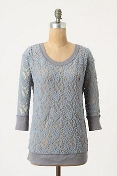 super cute lace sweater