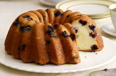 Lemon-Blueberry Swirl Cake Recipe - Kraft Recipes