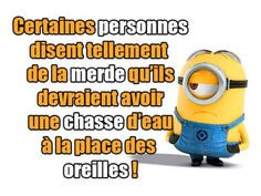 Les Minions … Plus Emoticons Text, Funny Emoticons, Minion Humour, Funny Stickers, Minions Quotes, Funny Cards, Some Words, Funny Texts, Haha