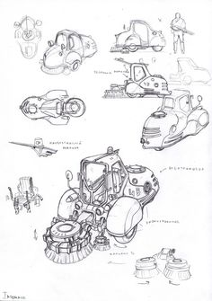 ArtStation - special vehicles 1, Vasily Khazykov