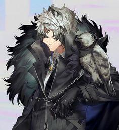 Character Concept, Character Art, Anime Manga, Anime Art, Silver Ash, Fantasy Art Men, Animal Ears, Character Design References, Cute Anime Guys
