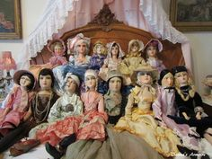 Some of my boudoir dolls.