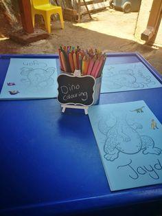 Dinosaur Colouring ideas