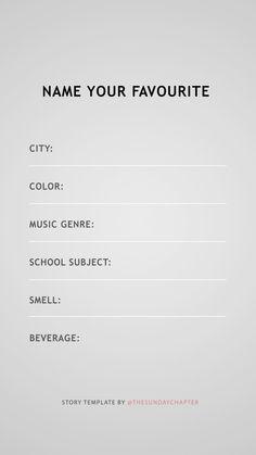 Credit: @thesundaychapter #storytemps #storytemplates #storygames #instagram #facebook #survey #quiz #fitness