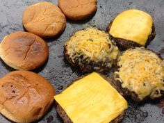 Cheese Burgers on the Twok Grill!! Also know as a Discada, Cowboy Wok or a Plow Disc Cooker. Check out Twok Grills at www.TwokGrill.com and please like and share our Facebook page at www.facebook.com/twokgrill