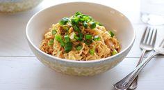4 Ingredient Peanut Chicken Ramen