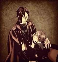 Kuroshitsuji - Black Butler - Sebastian and Ciel