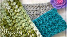 Простой, плотный узор - Видео урок вязания крючком. http://ellej.org/uzory/plotnyj-uzor/ How to Crochet - simple STITCH. ╔═══════════════════════════════════...