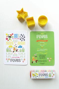 Mino - Paper Sweets °: Birth announcement cards & sweets - mooie, heldere kleuren in combi met wit op de voorkant
