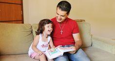 A importância dos pais lerem para os filhos