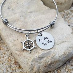 Jewlery - Disney - Bangle - Bracelet - Yo Ho - Pirates - Gift for Her - Disney Jewelry