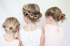 twisted crown / ballerina bun tutorial for little girls @Laurel Wypkema Wypkema Wypkema Wypkema G for little girls but kinda what you want!