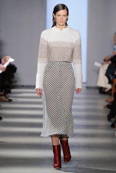 Wes Gordon   crop knit over dress