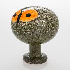 Glass Design, Design Art, Bukowski, Finland, Modern Contemporary, Glass Art, Retro Vintage, Sculpture, Bird