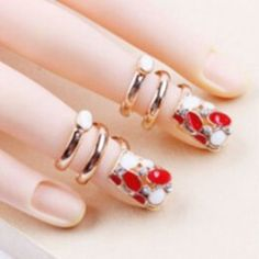 SHARE & Get it FREE | Punk Rhinestone Fingernail RingFor Fashion Lovers only:80,000+ Items·FREE SHIPPING Join Dresslily: Get YOUR $50 NOW!