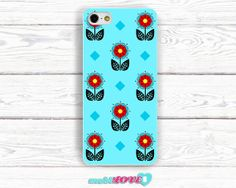 SunFlower in Blues Hand Made Pattern  Hard Case for by MobiLove, £10.00