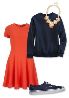 Super Bowl 2014: Four Looks to Wear on Game Day - Team: Denver Broncos from #InStyle