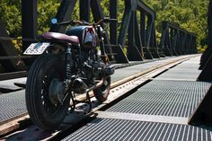 BMW Brat Style - Parsifal #motorcycles #bratstyle #motos   caferacerpasion.com