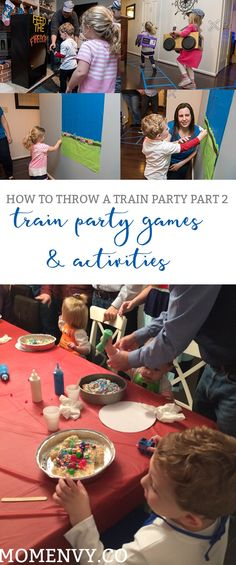 Train party games. Are you planning a train birthday party? We've got lots of ideas for games and activities for train parties.