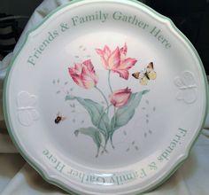 Springtime Lennox Butterfly Meadow® Dessert by VintageNia on Etsy