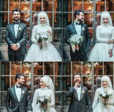 Muslimah Wedding, Wedding Hijab, Wedding Poses, Wedding Photoshoot, Wedding Couples, Wedding Bride, Muslim Brides, Pakistani Wedding Dresses, Muslim Couple Photography