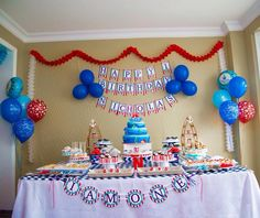 Nautical theme party accessories