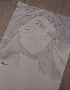 Naruto Uzumaki ~ Drawing done by me/Desenho feito por mim Insta:@camiilapg #Naruto #Fanart