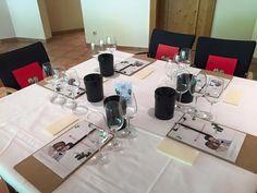 Alles bereit - es kann losgehen. Weinverkostungswochenende im Rahmen der Best of Bio Wine Award Prämierung 2015 im Hoteldorf Grüner Baum in Bad Gastein #bestofbio #biohotels
