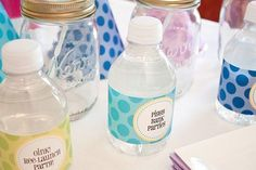 PDF file to type in your own words, already formatted then print for water bottles! THESE WERE PERFECT!