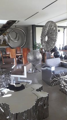 Circle Ball Stainless Steel Sculpture Bali Contemporary Fine