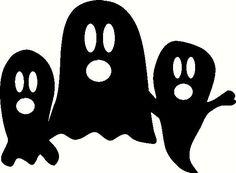 3 Ghosts Vinyl Decal | Halloween Vinyl Decals