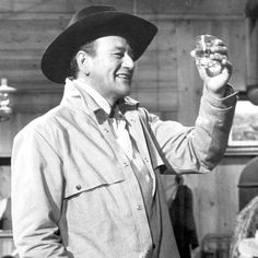 """""""Duke Wayne symbolized just this, the force of the American will to do what is right in the world. Hollywood Actor, Classic Hollywood, Old Hollywood, Hollywood Stars, Iowa, Westerns, North To Alaska, John Wayne Movies, Star Wars"""