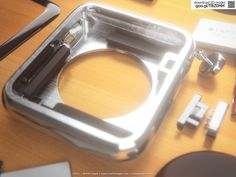 ..but you can already have a look inside!  Presenting a detailed 3D model of the inner components of the Apple Watch. I based this on the beautiful videos which Apple published; gold, aluminum and steel.This model is ideal for exploded views or animations.  You can download it here: www.turbosquid.com/3d-models/apple-watch-components-3d-3ds/917362?referral=MartinUtrecht