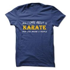 #ali #arts #baseball #basketball #football #hockey #martial #soccer #sports #swimmers #t-shirt #tennis... Awesome T-shirts (Best Discount) All I care about is Karate and like perhaps O individuals at BazaarTshirts  Design Description: Do you're keen on Karate? This shirt is a should have. Would you put on this shirt? if Yes, share your mates to allow them to find out abo... -...