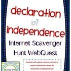 WEBQUEST using DUCKSTERS.  Declaration of Independence.This fun internet scavenger hunt webquest is a great way for students to learn about the Declaration of Independence!  Students will go to various ...