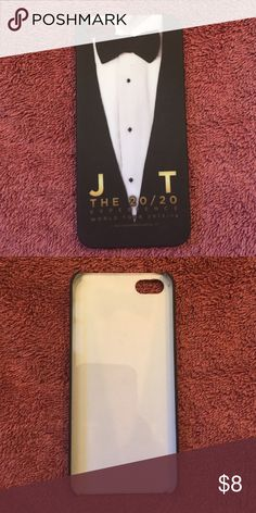 Justin Timberlake Tour iPhone Case Justin Timberlake 20/20 Experience Tour iPhone Case. Bought at the Chicago concert Tour in February 2014! Never used. Plastic. Accessories Phone Cases