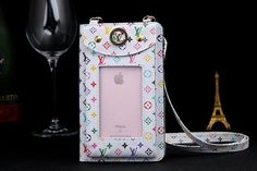 Louis Vuitton Bag With Strap Cases For iPhone8/7/6S/6/Plus Women