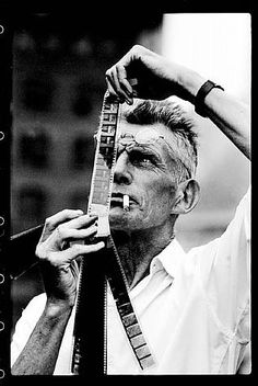 to make plays like you do... Samuel Beckett, c. 1964  by Steve Schapiro...