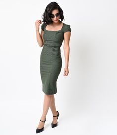 Prepare for stares! Modeled after the coveted vintage dresses of the 40s, The Verdant Dress is freshly picked from Stop...Price - $186.00-aoUrgnbe