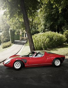 If I had a crap ton of money and really was into vintage sports cars, this would be my first purchase.