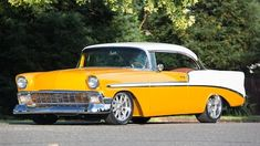 Consignment List Page 4 of Collector Car lots running on Friday, November 2018 at Mecum Las Vegas 2018 in Las Vegas, NV. Custom Chevy Trucks, Custom Cars, 1956 Chevy Bel Air, 1955 Chevy, Custom Wheels And Tires, Truck Paint, Chevy Muscle Cars, Classy Cars, Chevrolet Bel Air
