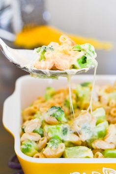 This 21 Day Fix mac and cheese is healthy, loaded with veggie goodness, super-creamy, cheesy and filling, and dare I say it? The Perfect Mac & Cheese!