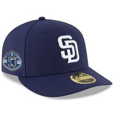 online store 05e30 73765 Men s San Diego Padres New Era Navy 50th Anniversary Authentic Collection  On-Field Low Profile 59FIFTY Fitted Hat, Your Price   39.99