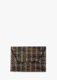 Pochette falda tweed -  Donna | MANGO