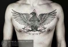 Eagle on the chest