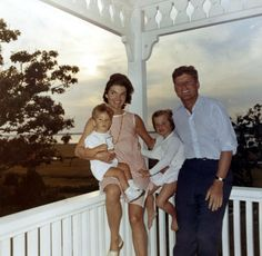 1962 - Jackie Kennedy photographed wearing a Lilly on vacation with the first family