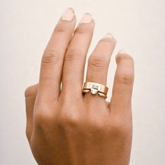 Large Oval Monolith Ring